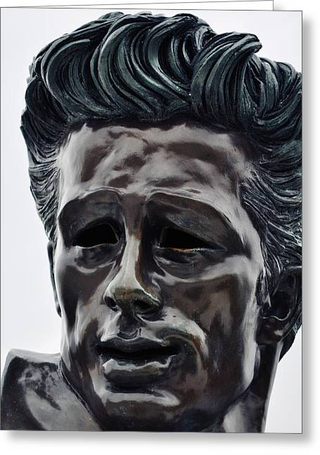 Greeting Card featuring the photograph James Dean The Rebel by Kyle Hanson