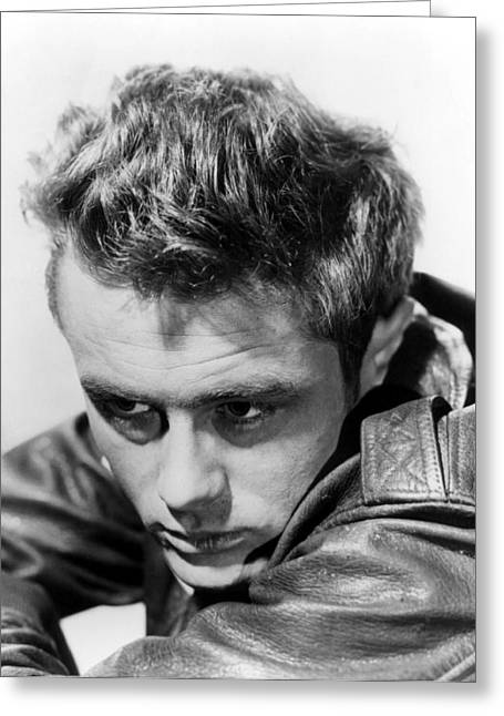 James Dean Greeting Card by Unknown