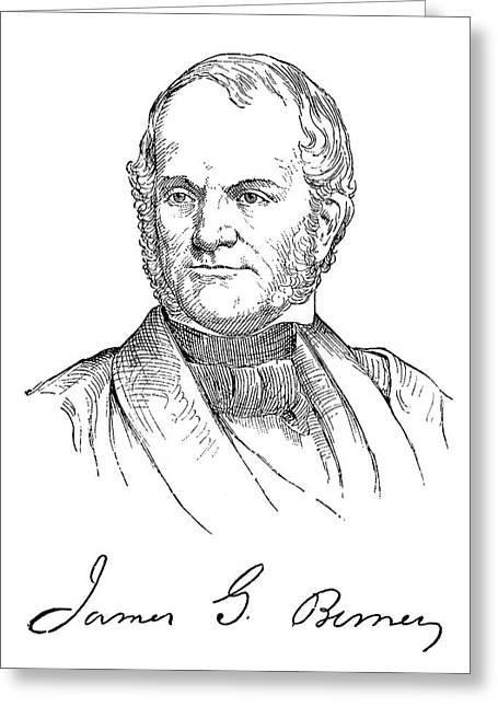 James Gillespie Birney (1792-1857) Greeting Card by Granger