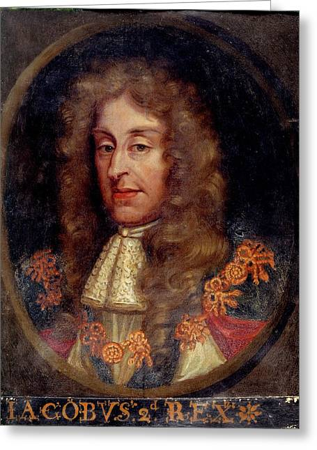 James II Greeting Card by British Library