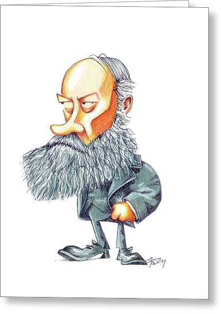 James Joule Greeting Card by Gary Brown