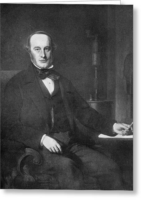 James Prescott Joule (1818-1889) Greeting Card by Granger
