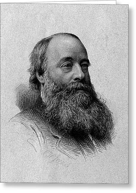 James Prescott Joule, English Physicist Greeting Card by Wellcome Images