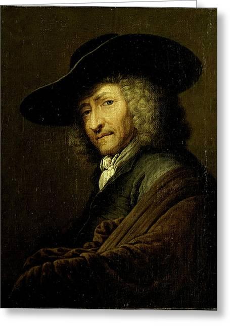 Jan Pietersz Zomer, Art Dealer In Amsterdam Greeting Card