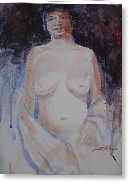 Jane Greeting Card by John  Svenson