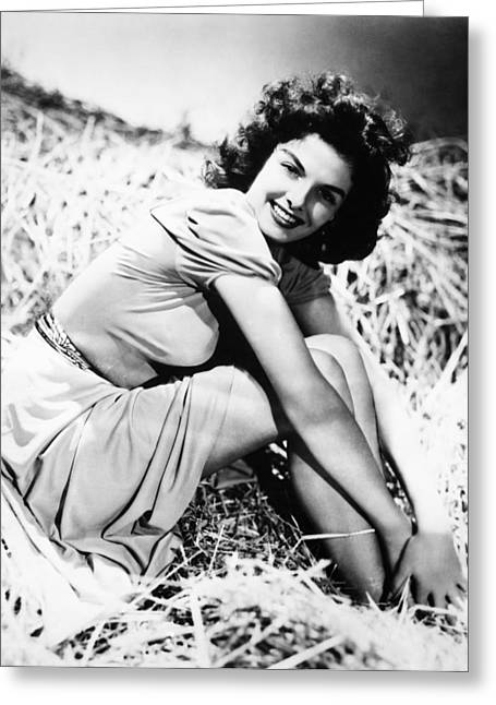 Jane Russell (1921-2011) Greeting Card
