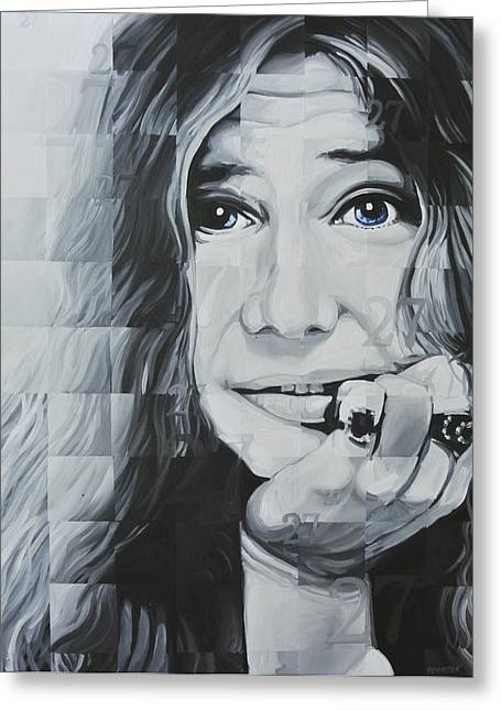Janis 27 Greeting Card