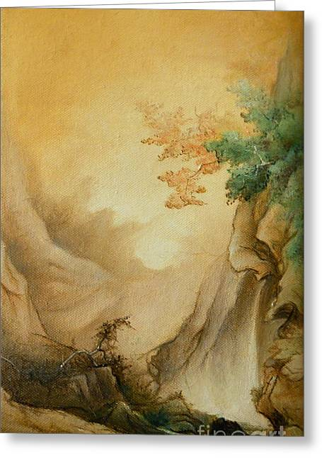Japanese Autumn Greeting Card by Sorin Apostolescu