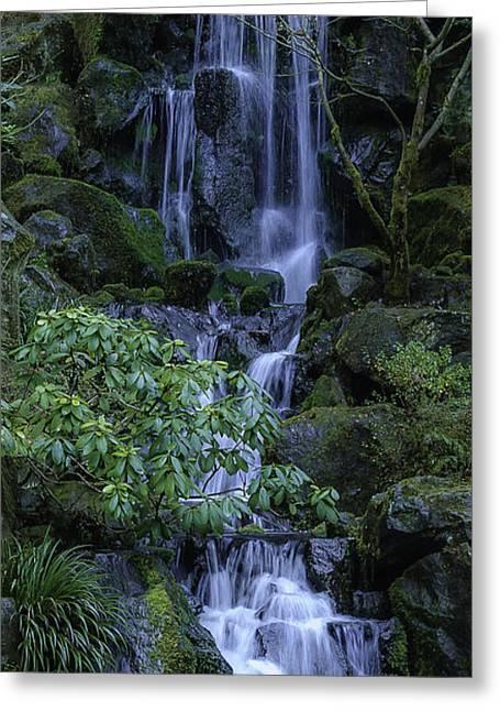 Japanese Garden Serenity 2 Greeting Card