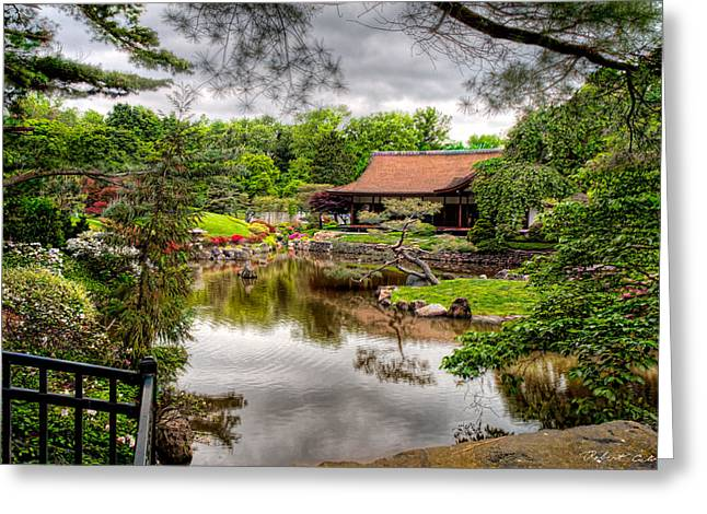 Greeting Card featuring the photograph Japanese House by Robert Culver