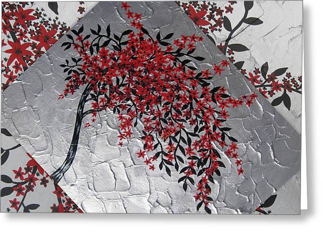 Japanese Tree Greeting Card