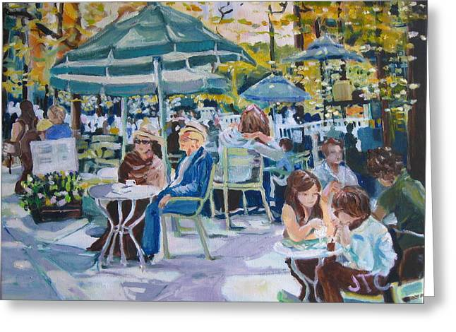 Jardin Du Luxembourg Greeting Card by Julie Todd-Cundiff