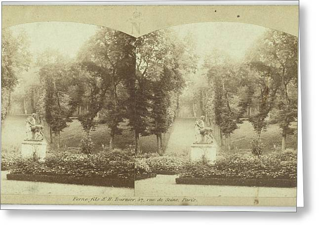 Jardins Reserves, Rond-point Du Centaure Greeting Card by Artokoloro