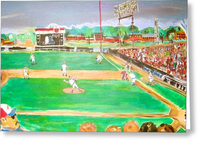 Jarry Park 2 Greeting Card by Michael Litvack