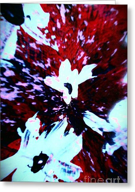 Greeting Card featuring the painting Jasmine In My Mind  by Jacqueline McReynolds