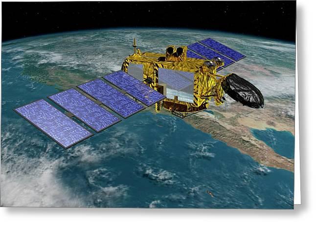 Jason-3 Satellite Greeting Card