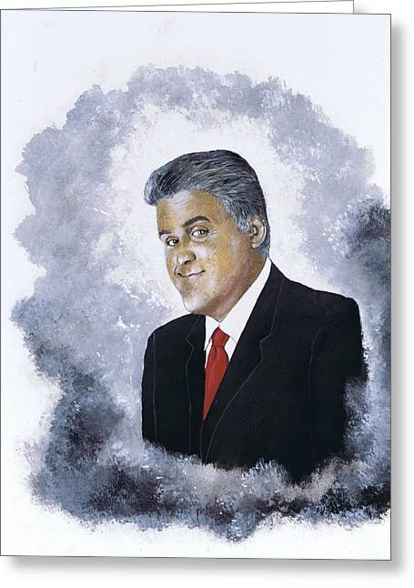 Jay Leno Greeting Card