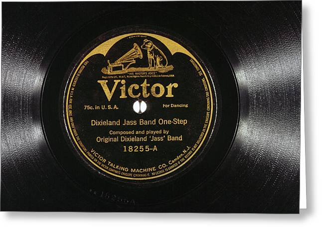 Jazz Record, 1917 Greeting Card by Granger