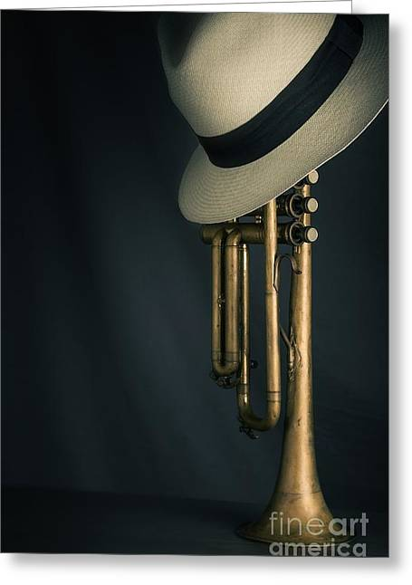 Jazz Trumpet Greeting Card