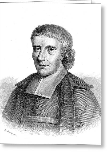 Jean Baptiste De La Salle Greeting Card