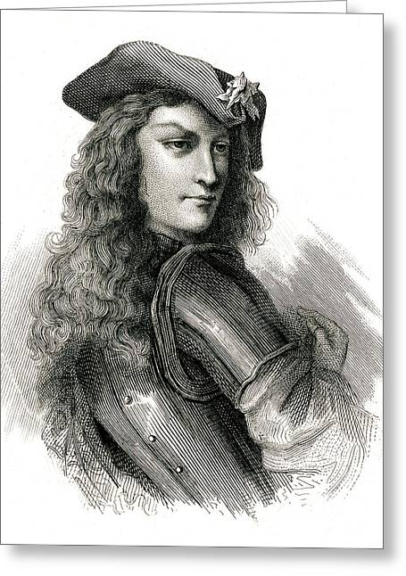 Jean Cavalier  French Insurgent, Leader Greeting Card by Mary Evans Picture Library