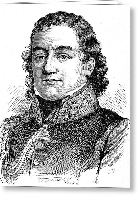Jean Dominique Larrey Greeting Card by Collection Abecasis