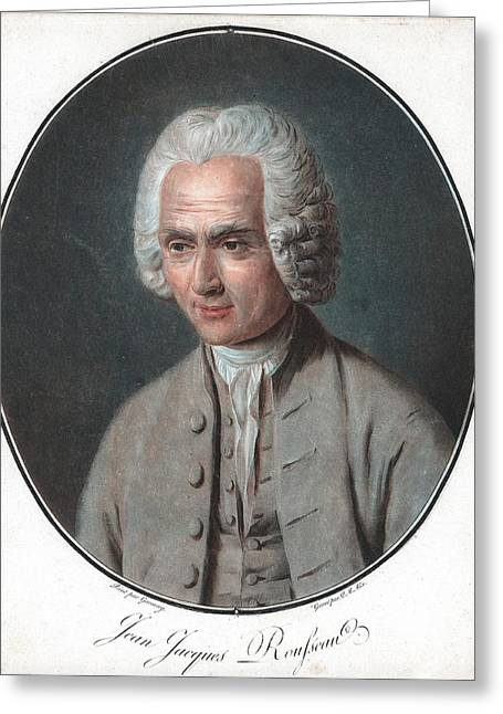 Jean-jacques Rousseau Greeting Card