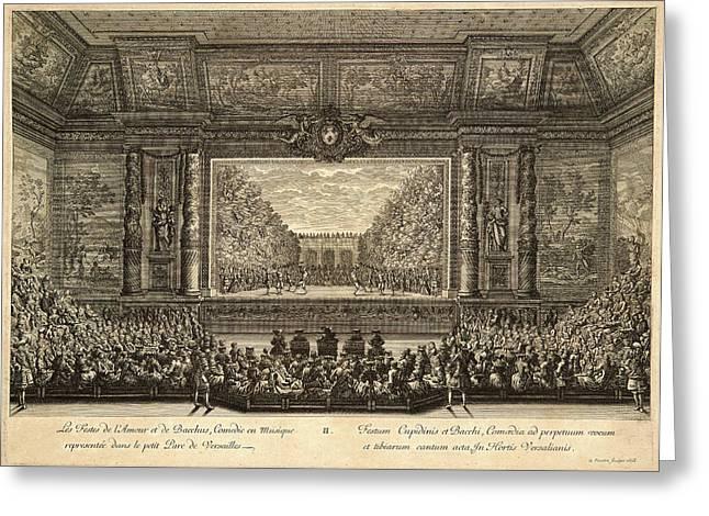 Jean Le Pautre French, 1618-1682. Les Festes De Lamour Et Greeting Card