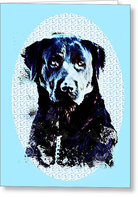 Jed Greeting Card