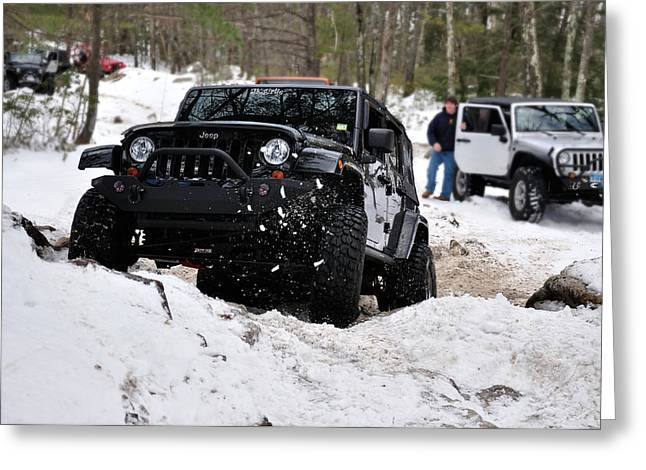Jeep 8 Greeting Card