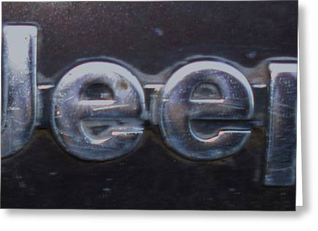 Greeting Card featuring the photograph Jeep by J L Zarek