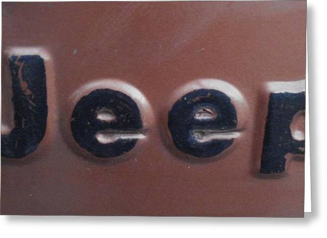 Jeep Two Greeting Card
