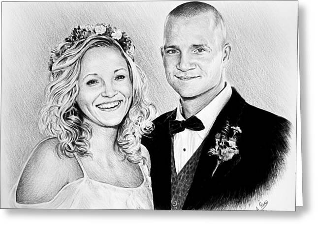 Jeff And Anna Greeting Card