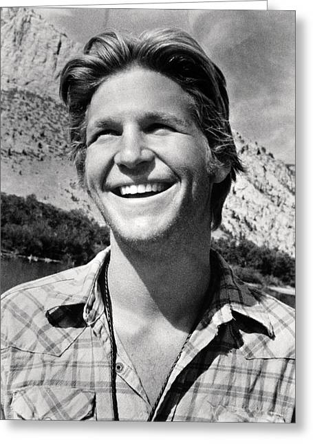 Jeff Bridges In Thunderbolt And Lightfoot  Greeting Card by Silver Screen