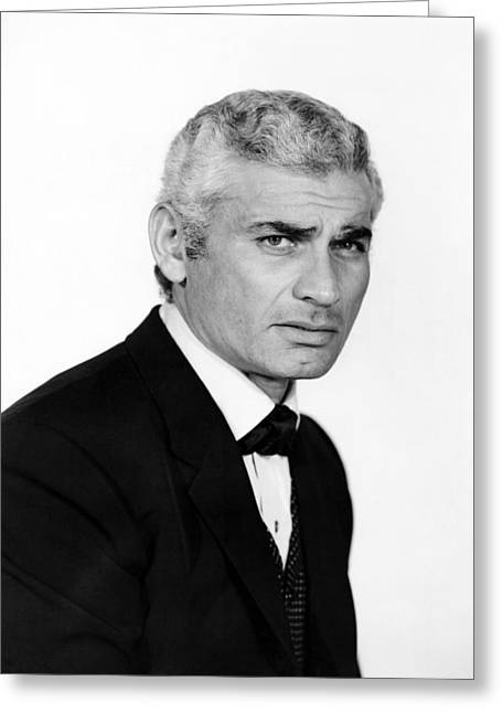 Jeff Chandler In The Jayhawkers!  Greeting Card
