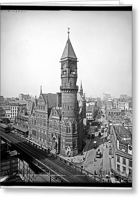 Jefferson Market Court House New York Greeting Card