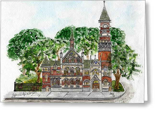 Jefferson Market Library Greeting Card