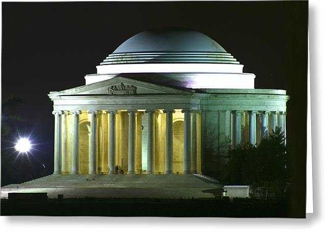 Jefferson Memorial Greeting Card by Andrew Johnson
