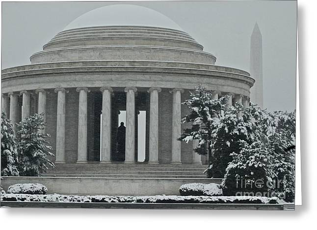 Jefferson Memorial II Greeting Card