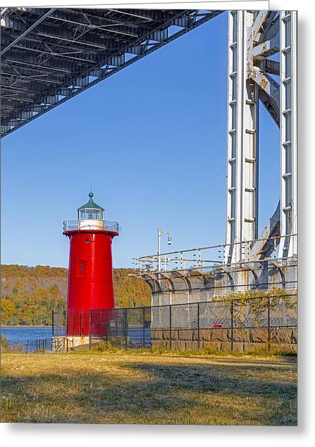 Jeffrey's Hook Lighthouse Iv Greeting Card
