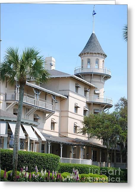 Jekyll Island Club Hotel Greeting Cards   Fine Art America