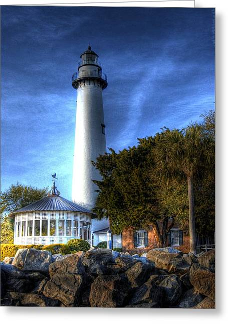 Jekyll Island Lighthouse Greeting Card