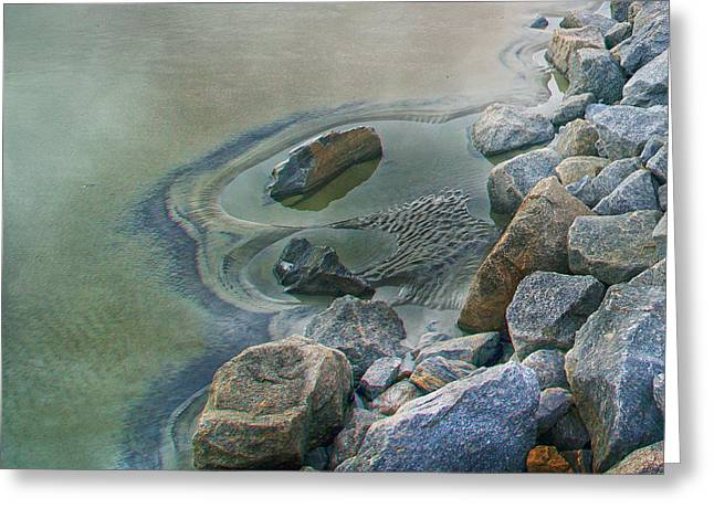 Jekyll Island Tidal Pool Greeting Card by Betsy Knapp