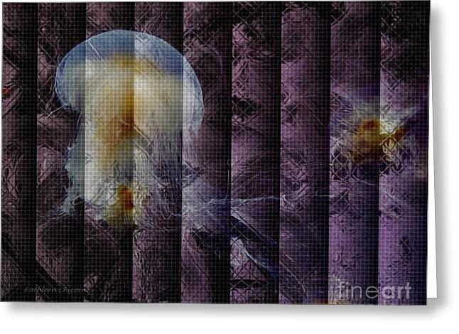 Greeting Card featuring the photograph Jellies by Kathie Chicoine