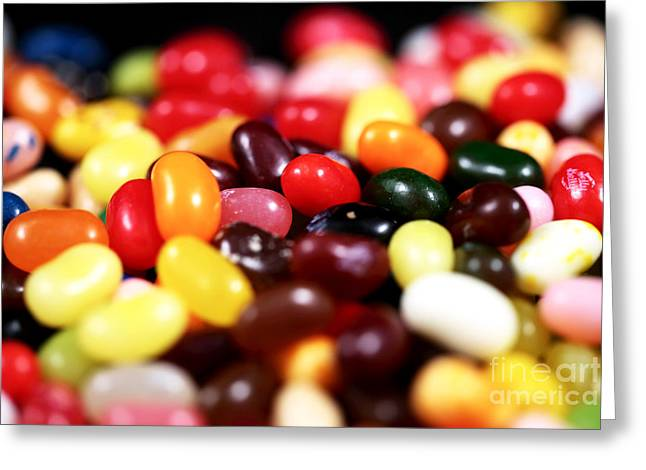 Jelly Beans Greeting Card by John Rizzuto