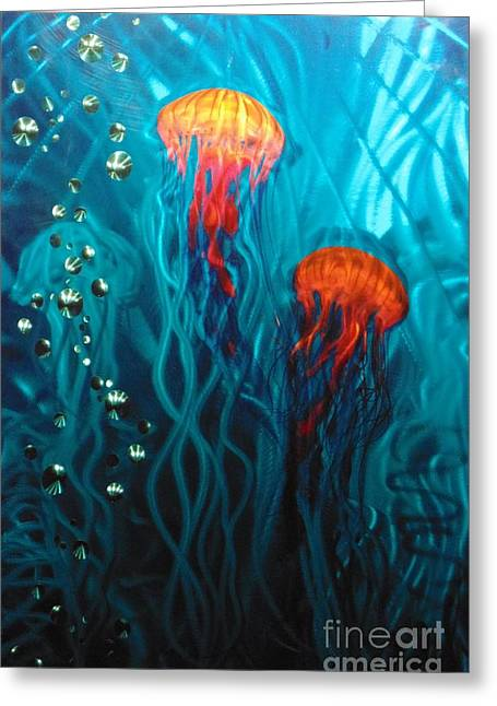 Jelly Fish Ll  Greeting Card