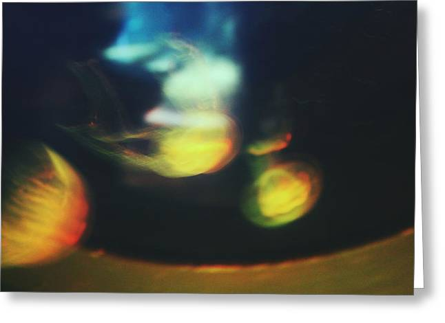 Jellyfish Ultrasound Greeting Card by Claudia Avila