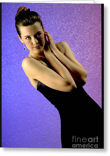 Jennifer Formal Lbd Greeting Card by Gary Gingrich Galleries