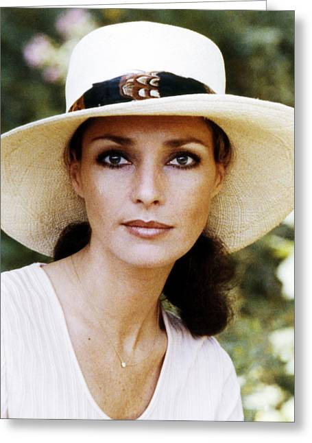 Jennifer O'neill In Cover Up  Greeting Card by Silver Screen