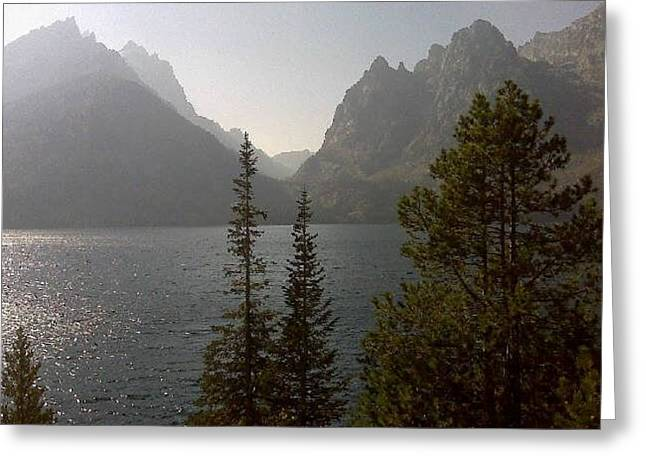 Jenny Lake And The Tetons Greeting Card